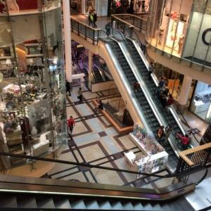 """Ein Blick in die riesige Einkaufsmeile """"Palladium"""""""